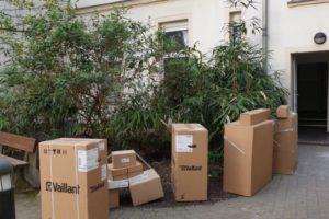 Heizingasanlage Lieferung und Installation durch Sana-Tec